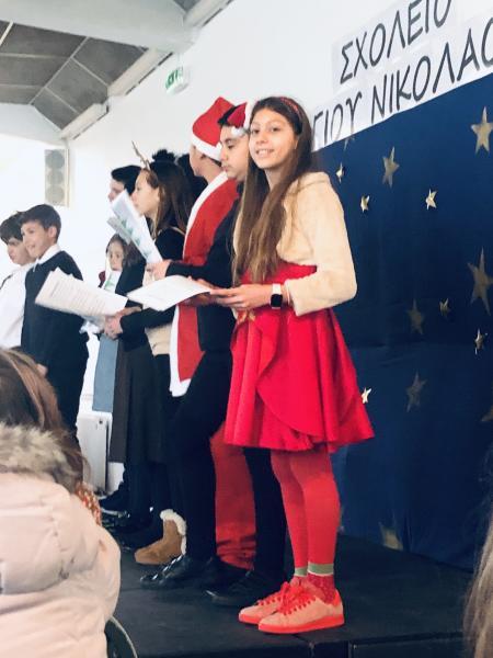 Saint Nicholas performance