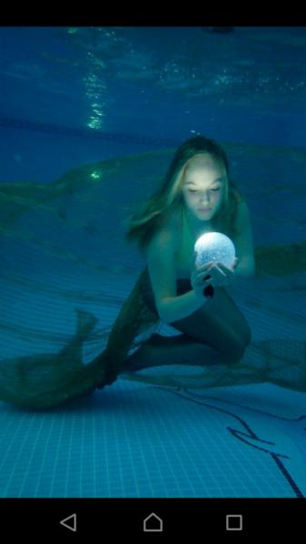 Under water mermaid shoot