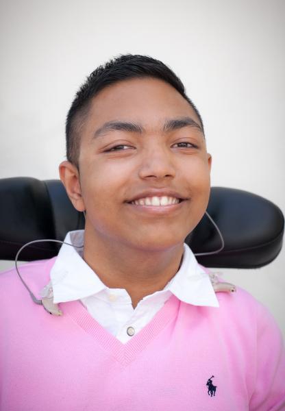 Ishman-Smiling with teeth