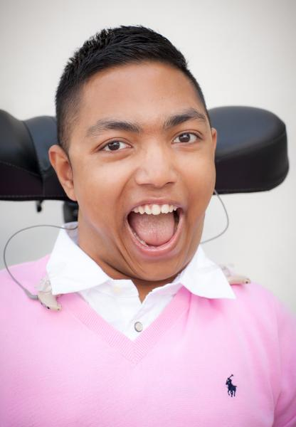 Ishman-Wide smile