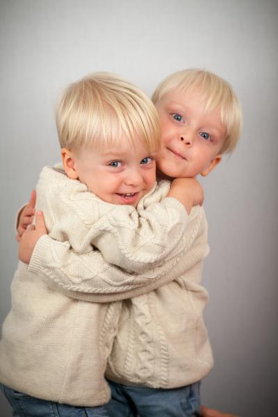 Cute twins
